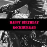 おめでとう!ROCKHURRAH!