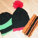 ニット帽3色!
