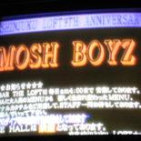 MOSH BOYZ参戦!