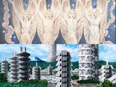 ウィリアム・ブレイク版画展/メタボリズムの未来都市展